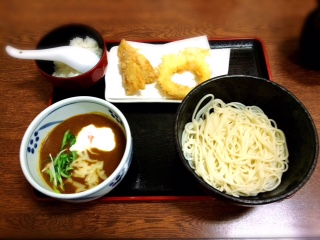 鼓亭のカレーつけ麺