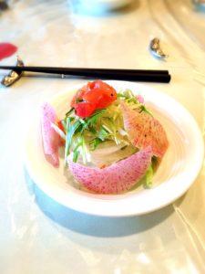 プティポワのサラダ
