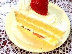 ポッシュのショートケーキ