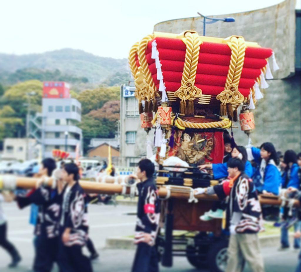 淡路島福良春祭りのだんじり