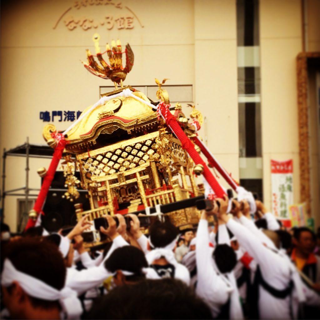 淡路島福良春祭りの神輿