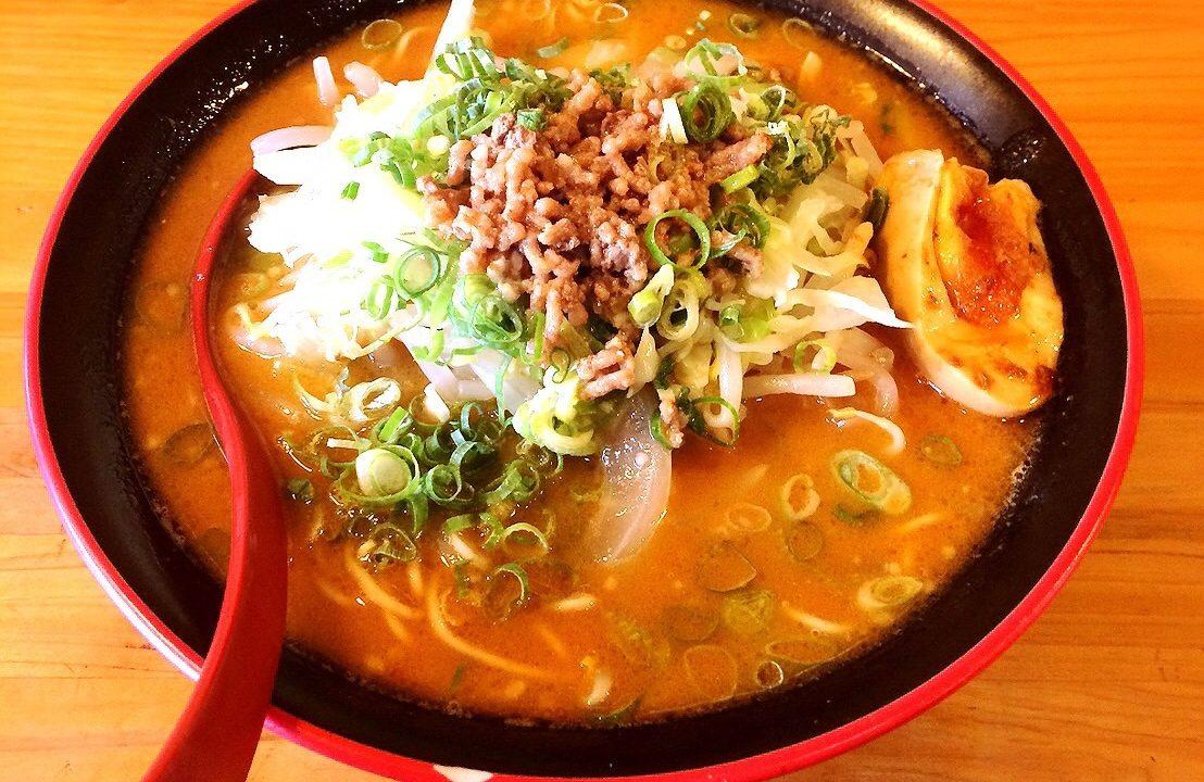 麺屋ZOEの野菜味噌ラーメン