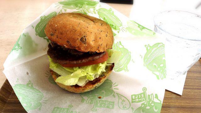 リッチバーガーファクトリーの徳島バーガー