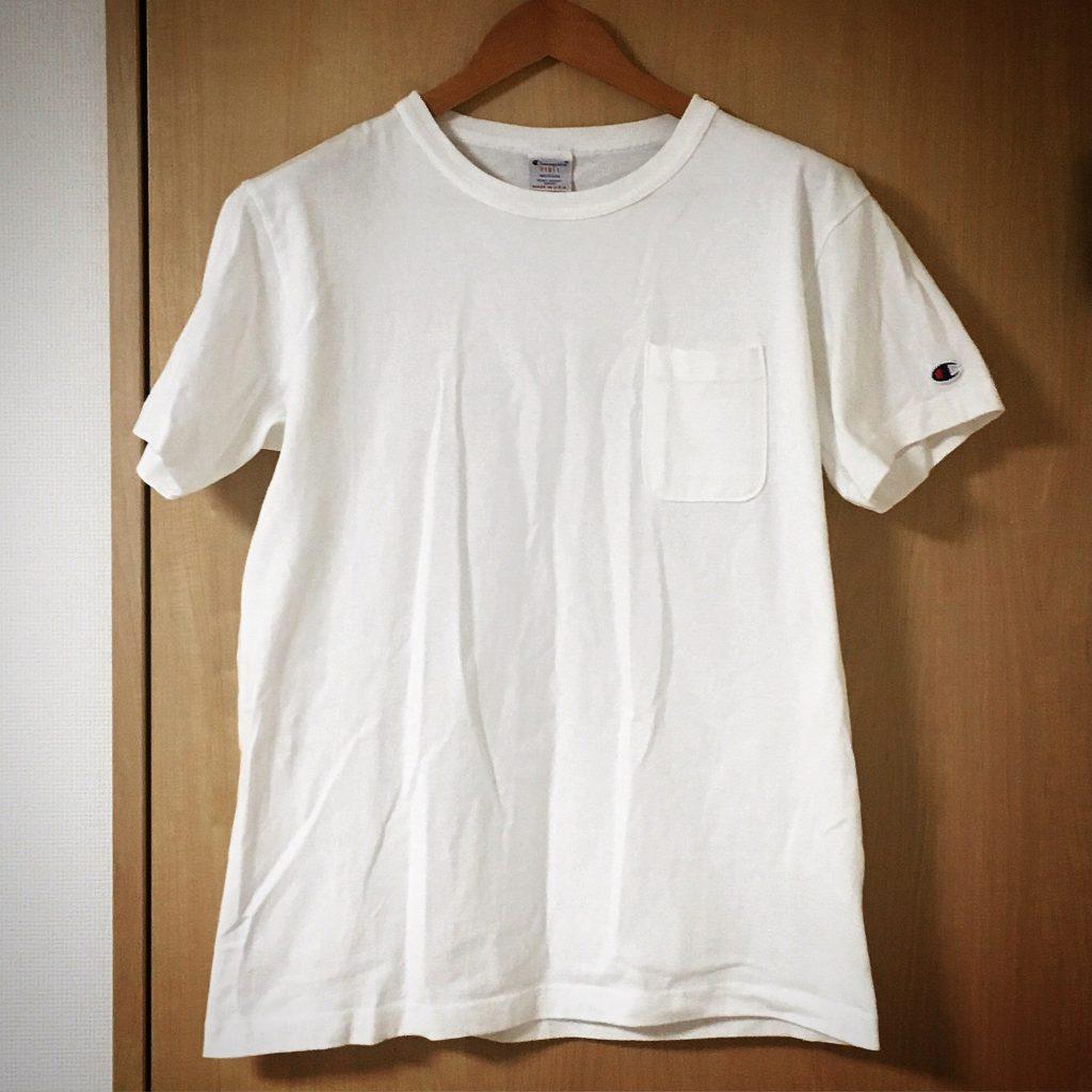 チャンピオンのT1011ポケットTシャツ