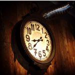 モンディアルカフェ328の時計