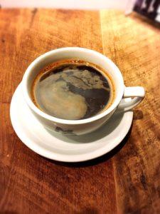 モンディアルカフェ328のコーヒー
