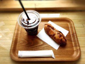 フードスコープ(foodscope)のコーヒーとミルクフランス