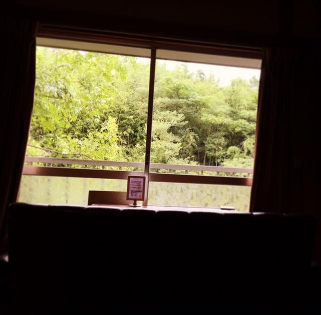 ふくカフェからの景色