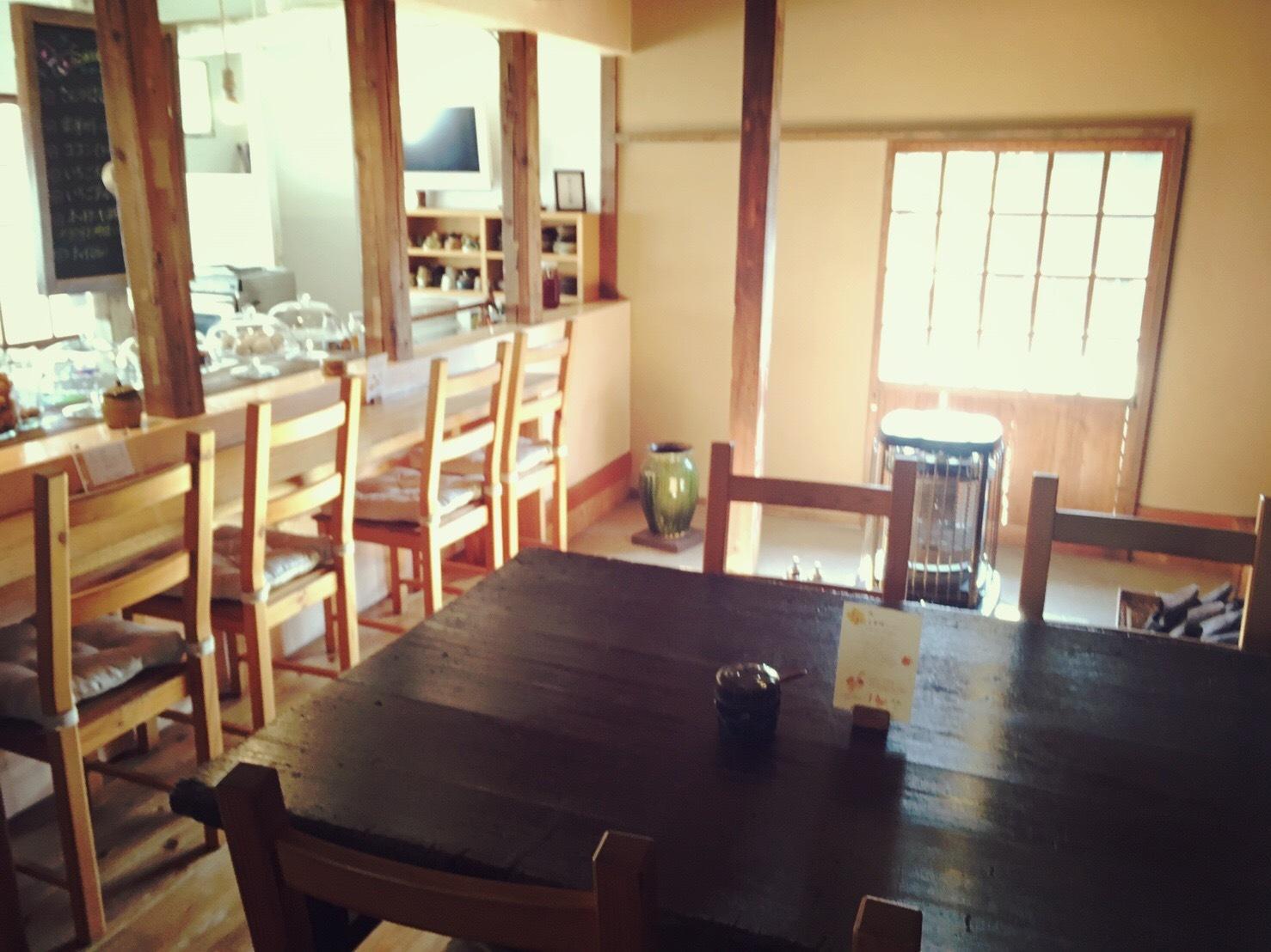 樂久登窯のカフェスペース