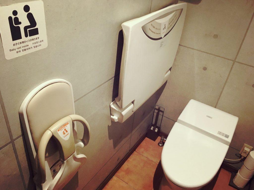 石窯ピザ丸のトイレ