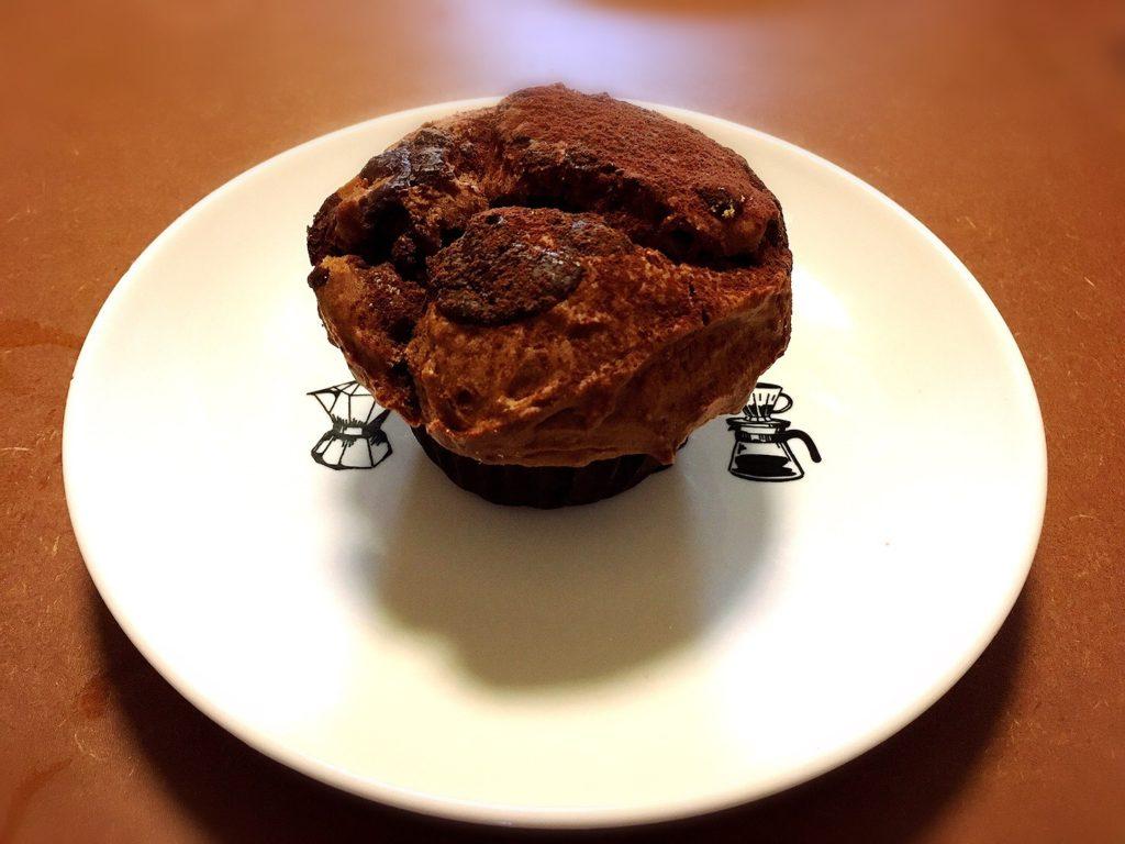 小空荘(kozorasou)のチョコレートマフィン