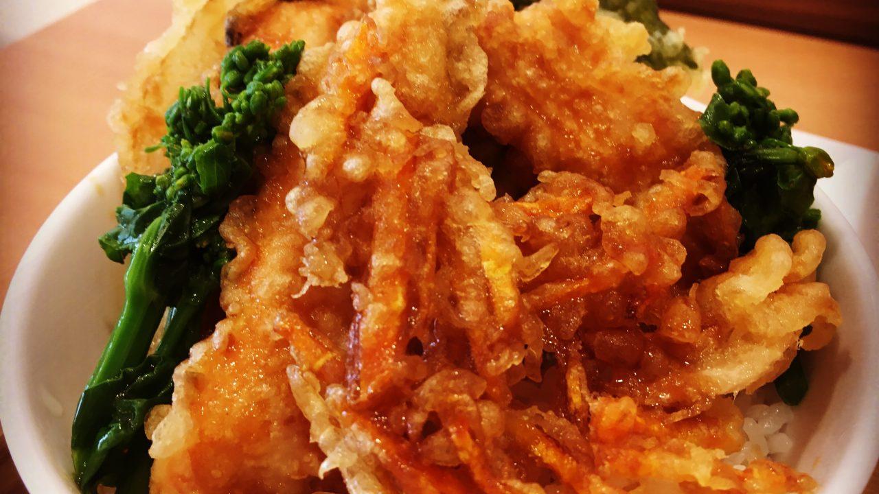 kekkoiのサクラマス天丼