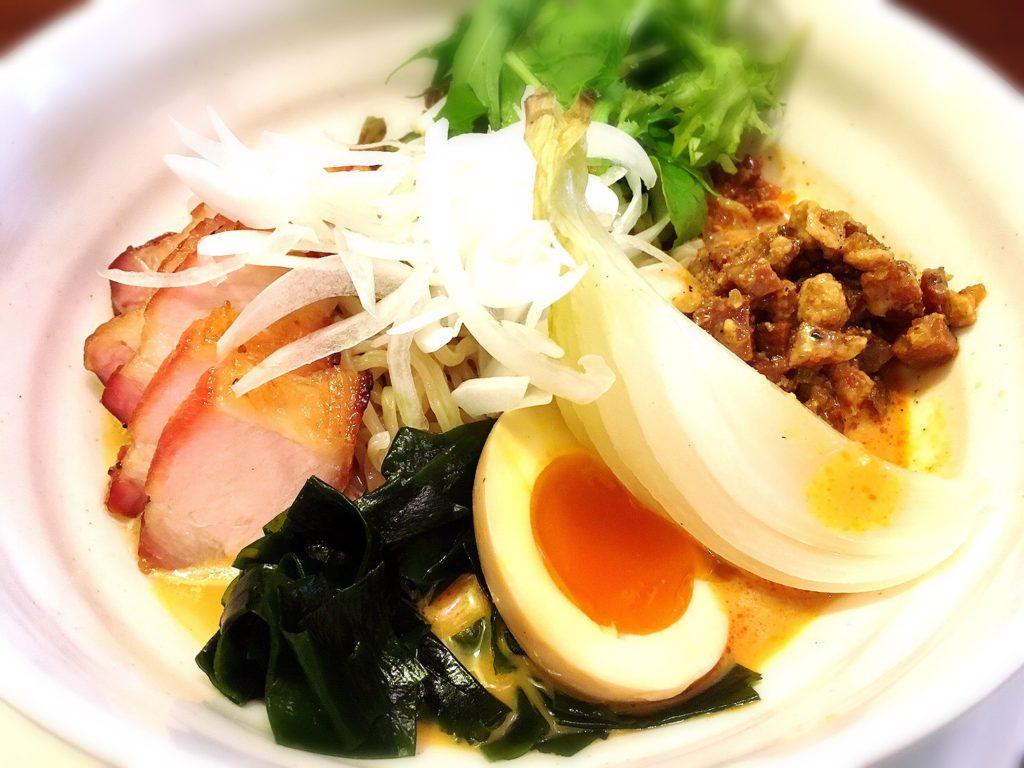 洲本たねさんの担々叉焼冷麺セット