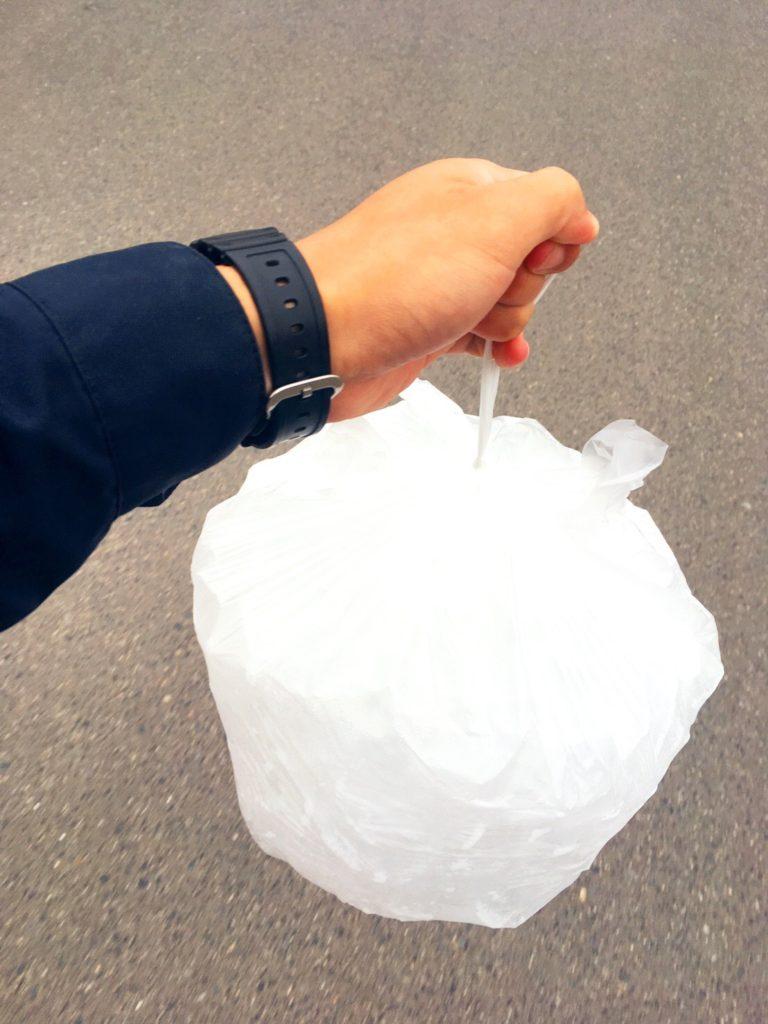 安戸池のバラ氷5kg200円