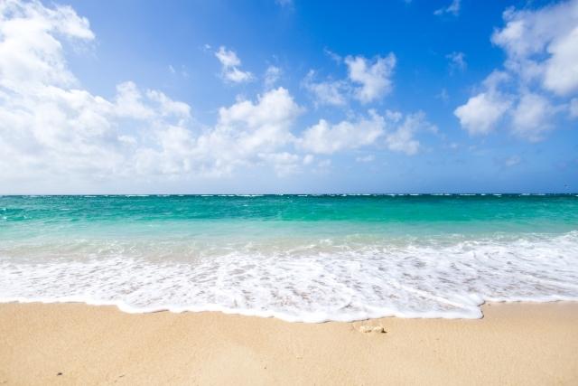 夏の海(浜辺)