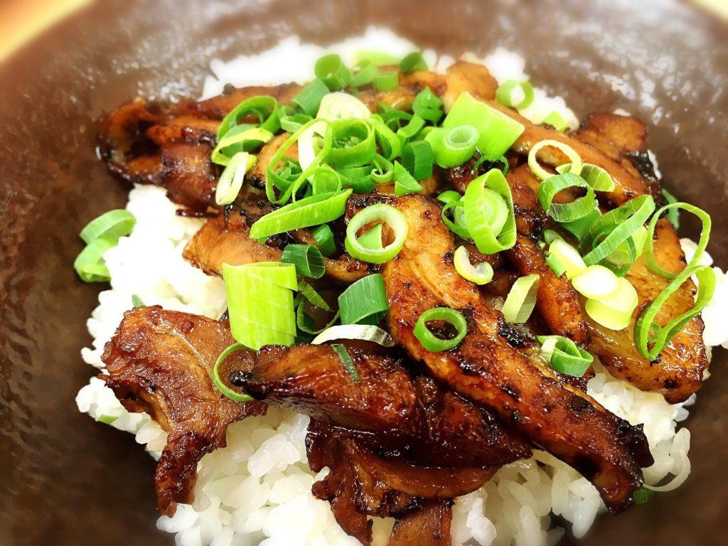 徳島松茂のひろっちゃんチャーシュー丼