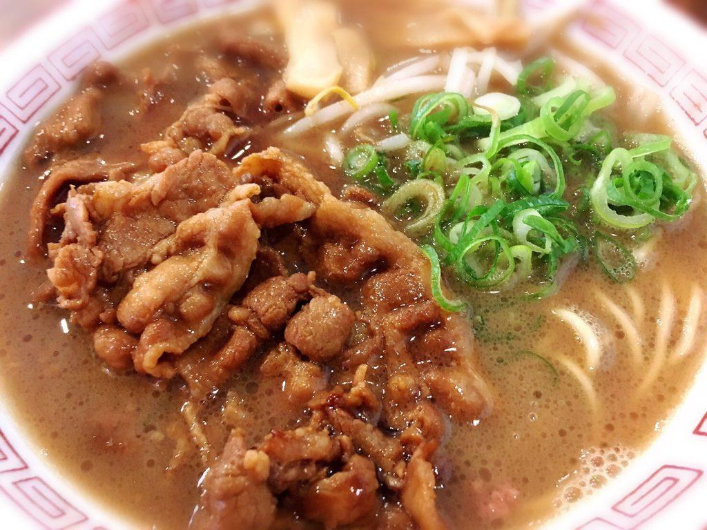 淡路島ラーメン東大の徳島ラーメン肉増し