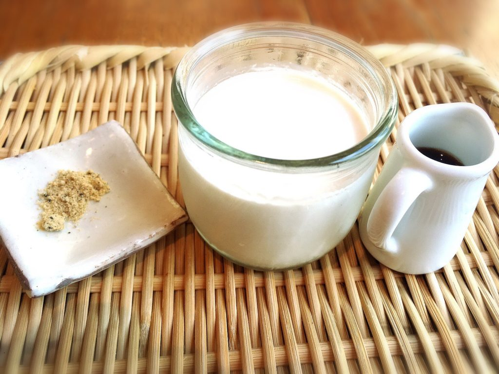 菜と根(kitone)の淡路島とろける牛乳プリン350円