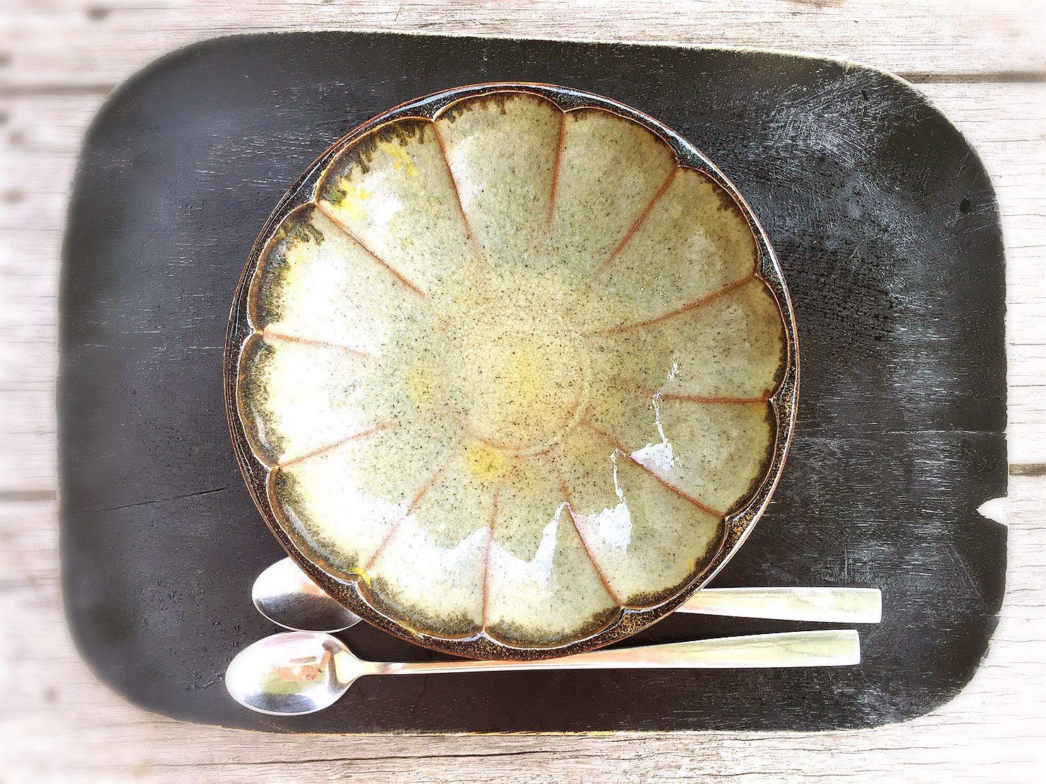 樂久登窯のかき氷の器