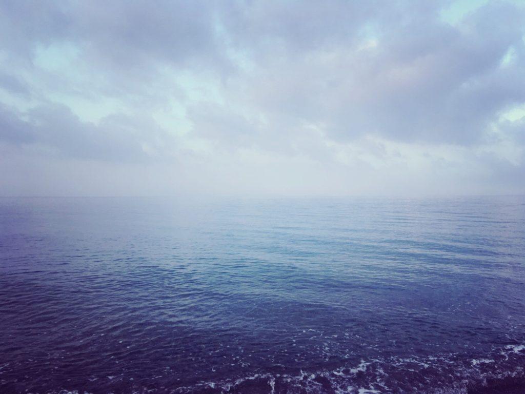 シオが釣れた日のポイント(霧がかかった天気)