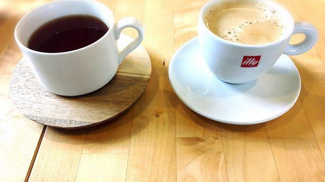 バニーズホーンのコーヒーと紅茶