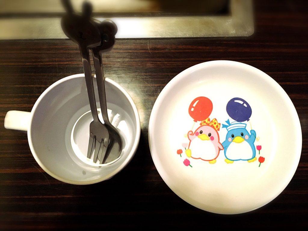 満面の子供用取り皿