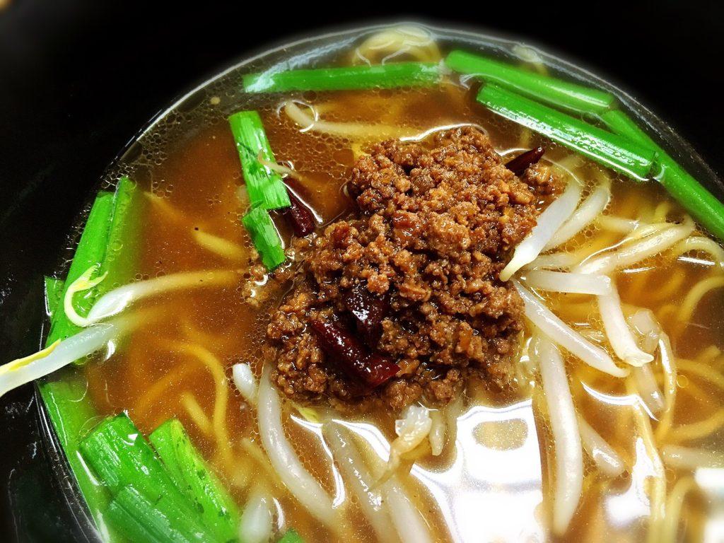 桃仙の台湾ラーメン