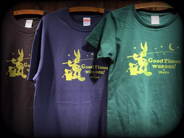 ワズクラフトのウサギさんTシャツ