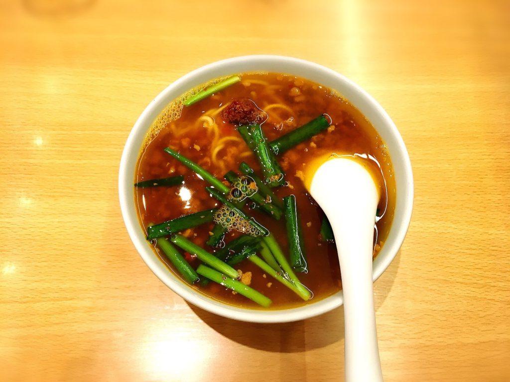 味仙大名古屋ビルヂング店の台湾ラーメン
