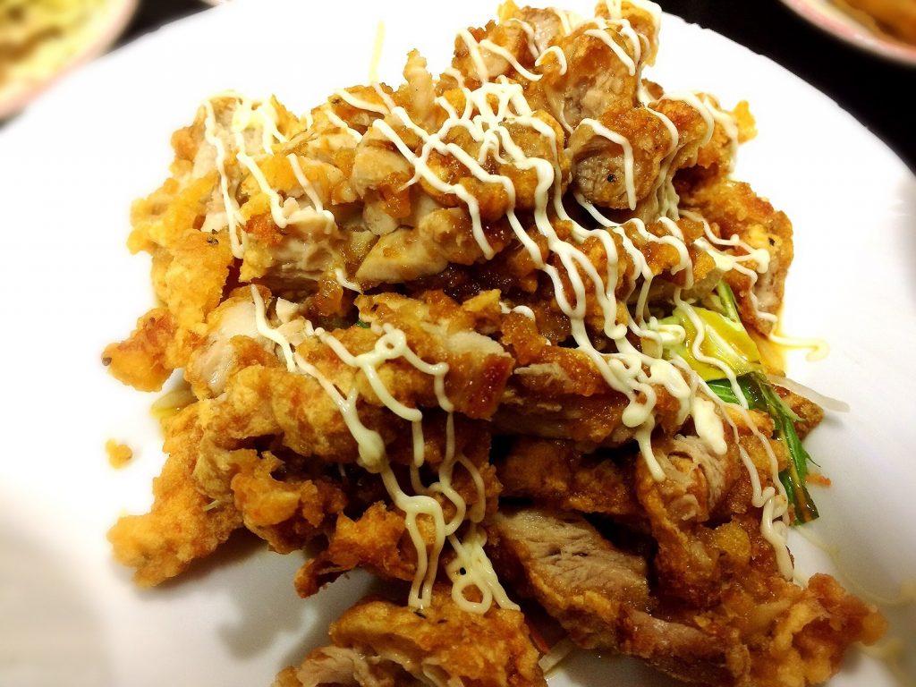 豊源の油淋鶏定食