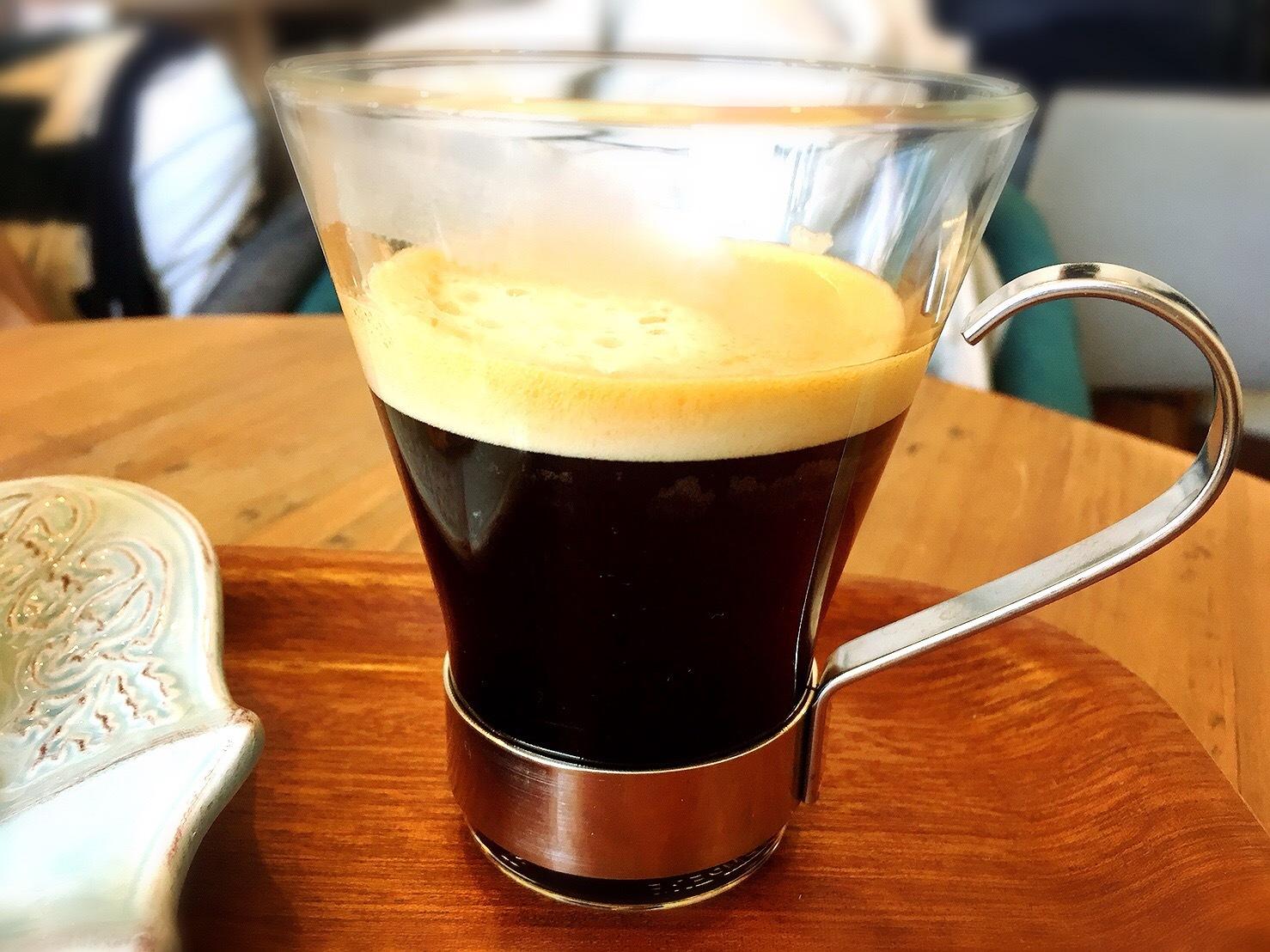 星の果樹園カフェのコーヒー