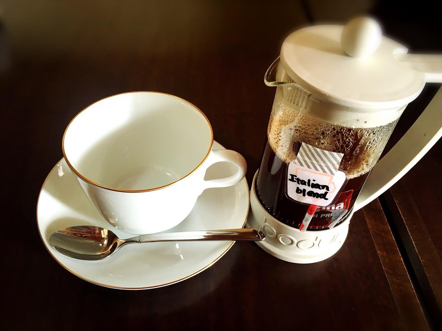 タワーコーヒーのフレンチプレスコーヒー