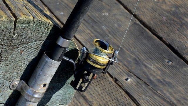 竿と糸とリールとライン