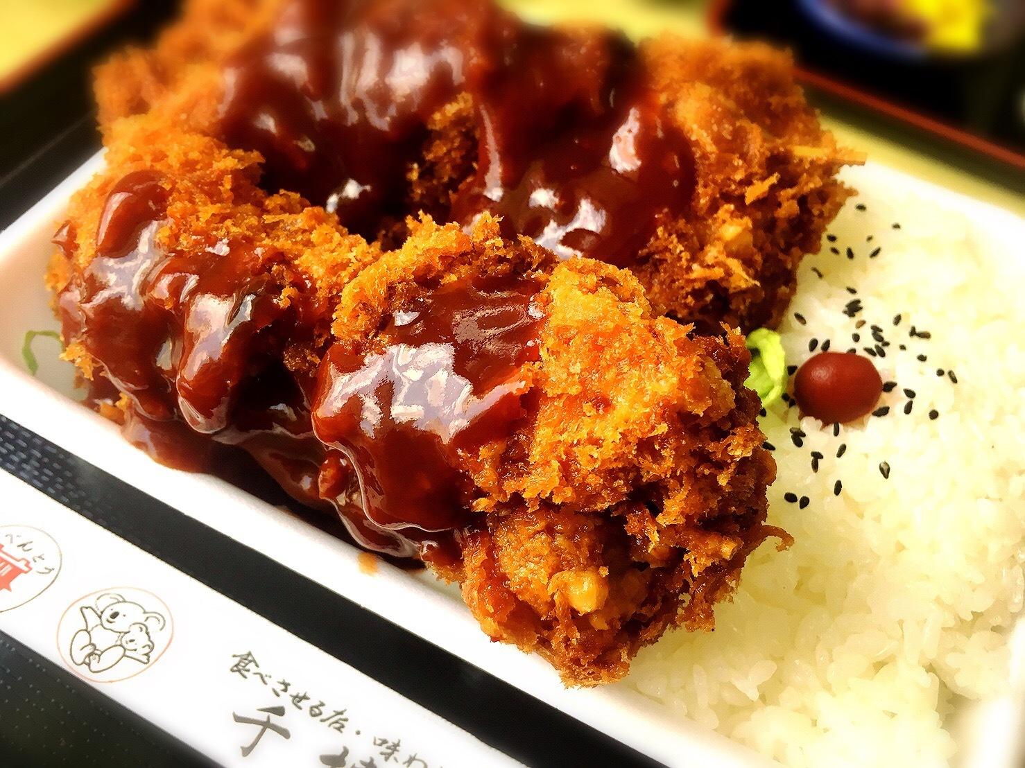 千博屋の串カツ弁当