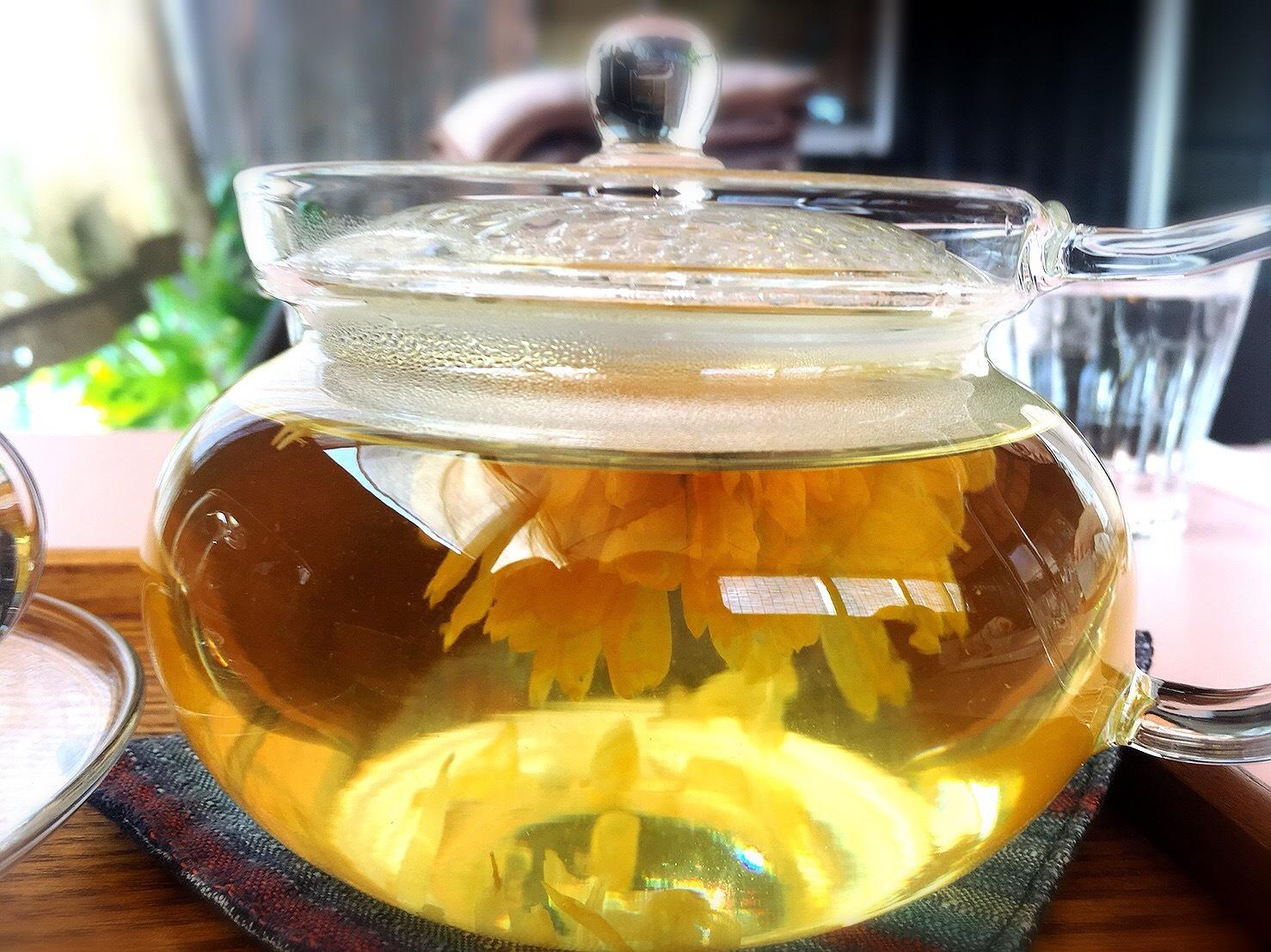 菓のんセットの淡路島カレンデュラ茶