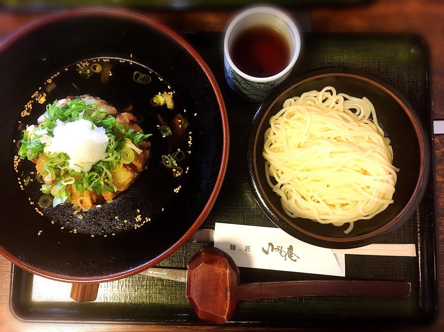 いづも庵の玉ねぎつけ麺