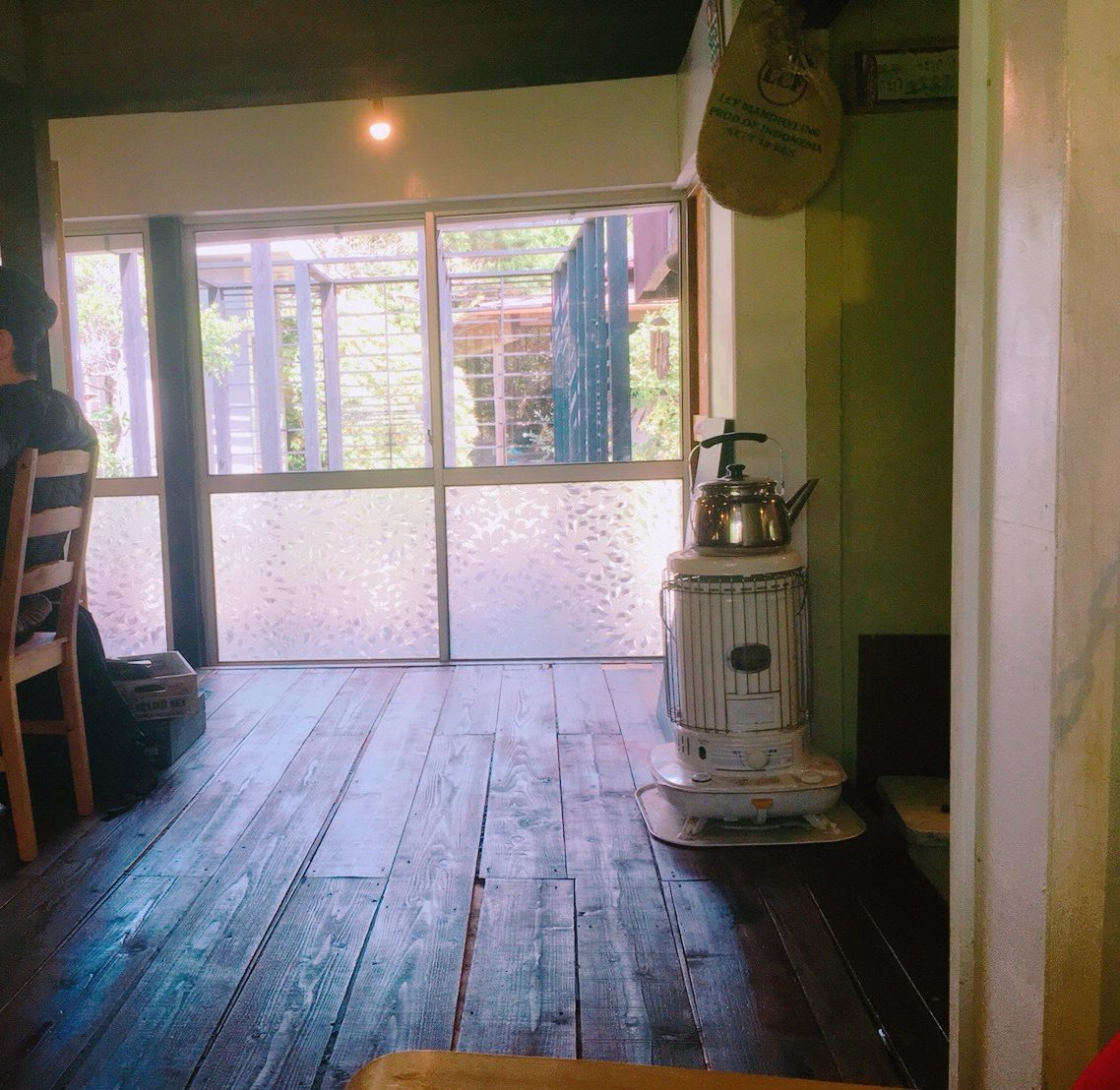 ふくカフェの店内