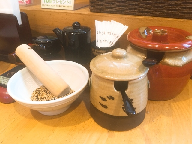 かつ富士の調味料