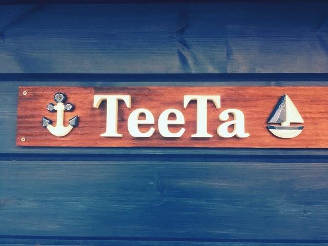 ティータの看板
