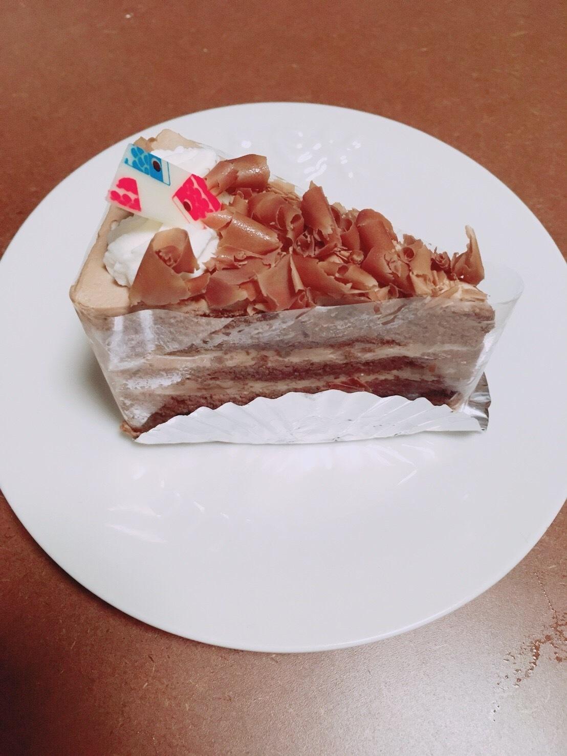 ルミエールのチョコレートケーキ