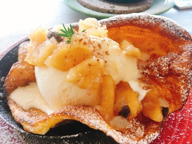 ラメールのパンケーキ(アップルシナモン)