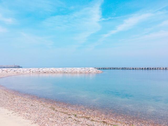 新五色浜海水浴場