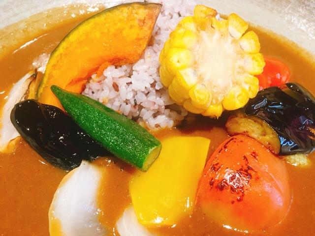 ほんやのあと(honyanoato)の旬の野菜カレー