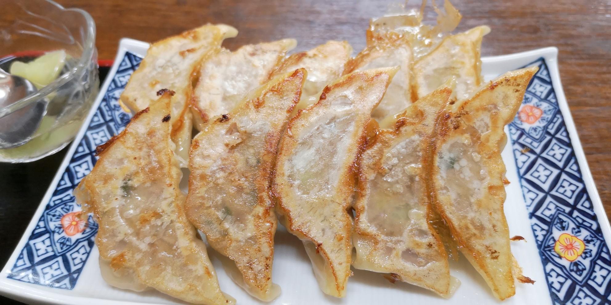 桃仙の餃子