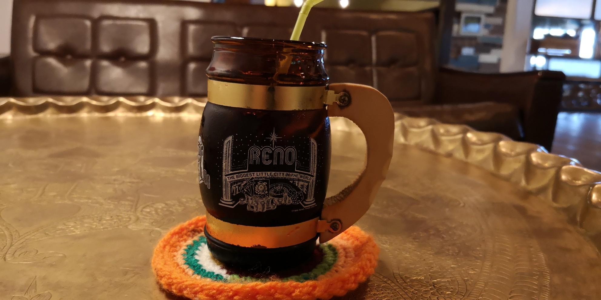 島の恵みジェラート「のら」のアイスコーヒー