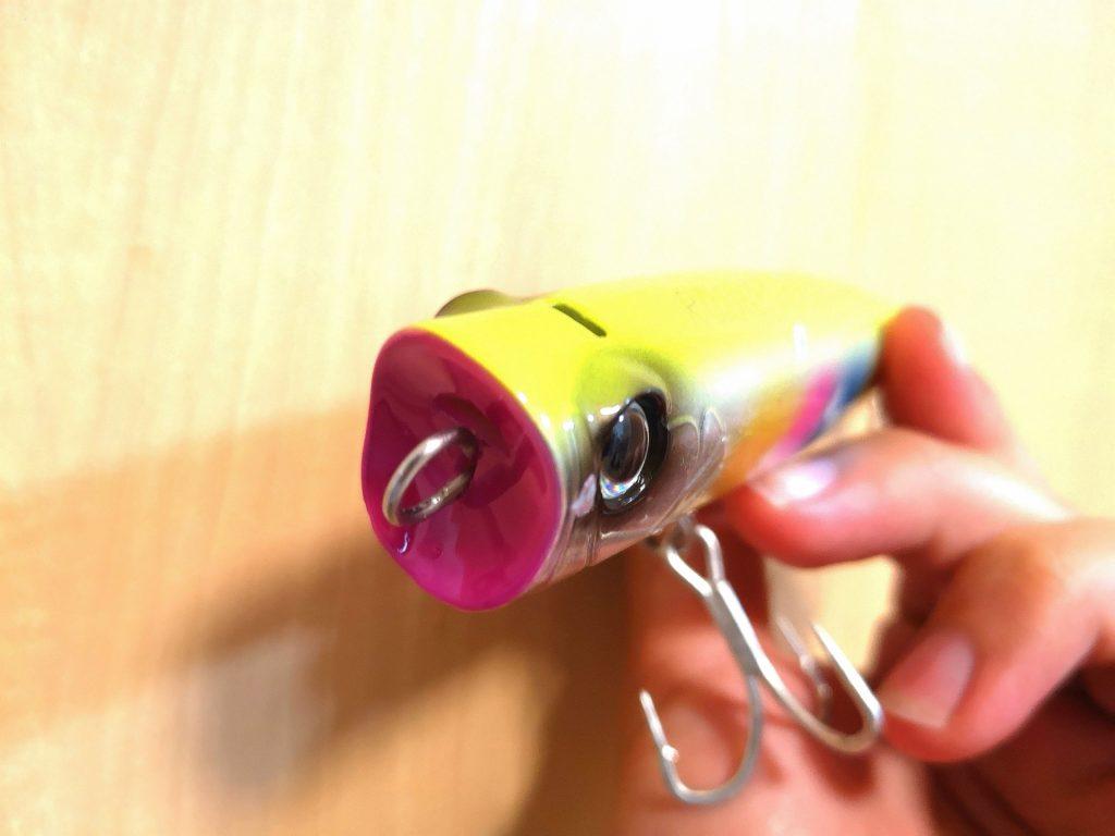 ロックポップスリム140Fのバブルチャンバー