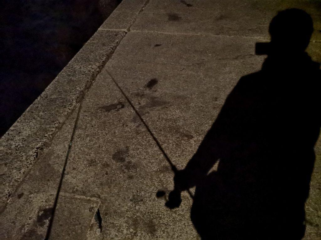 アオリイカ568gを釣った堤防と夜釣りの影(2018.11)