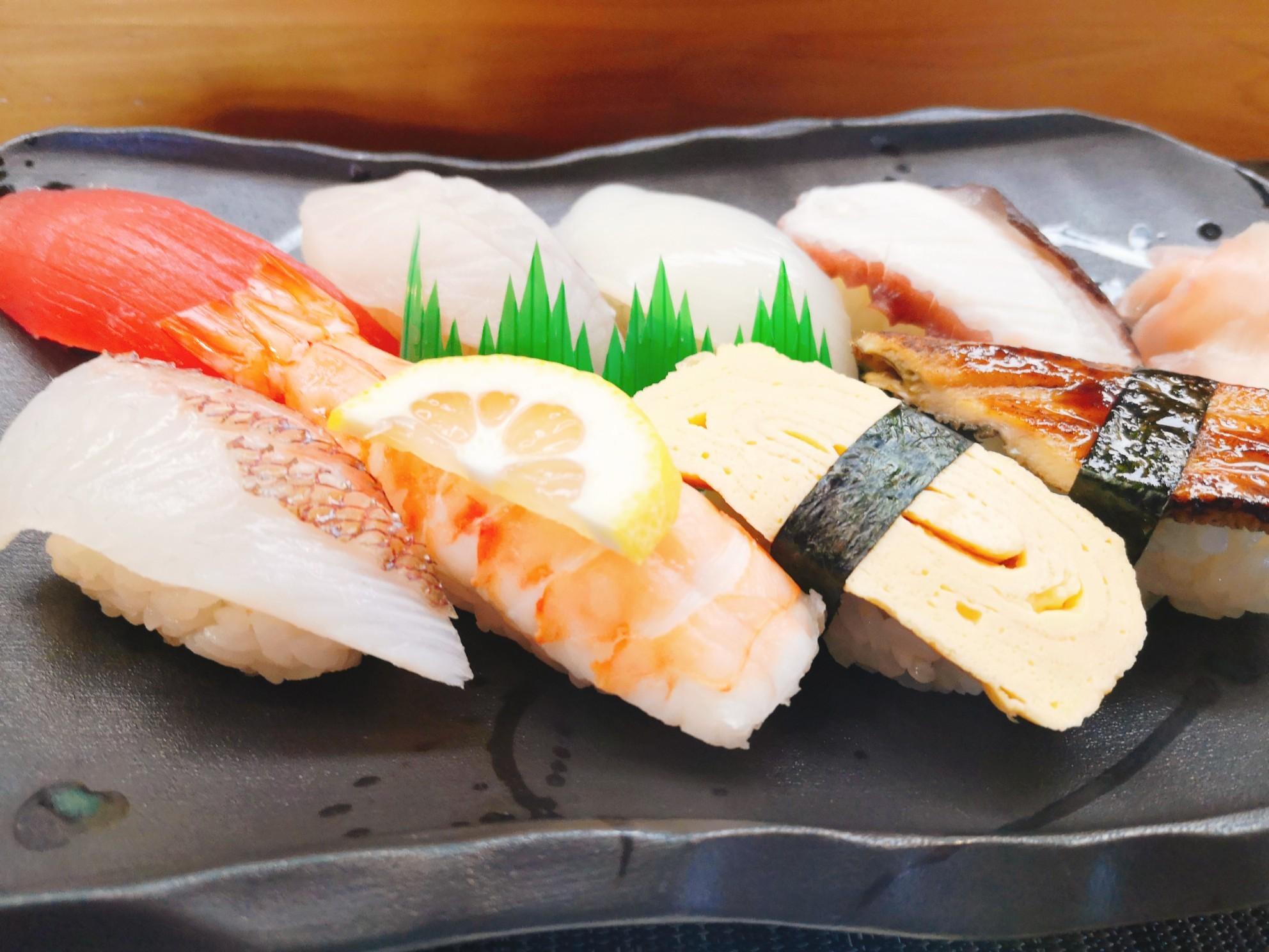 一作の握り寿司(並握り)