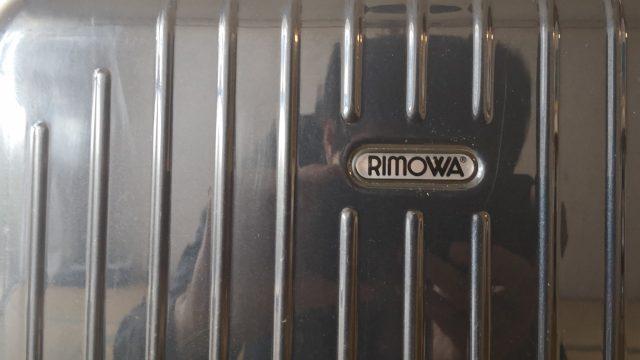 リモワのサルサエアー33Lネイビーのロゴ