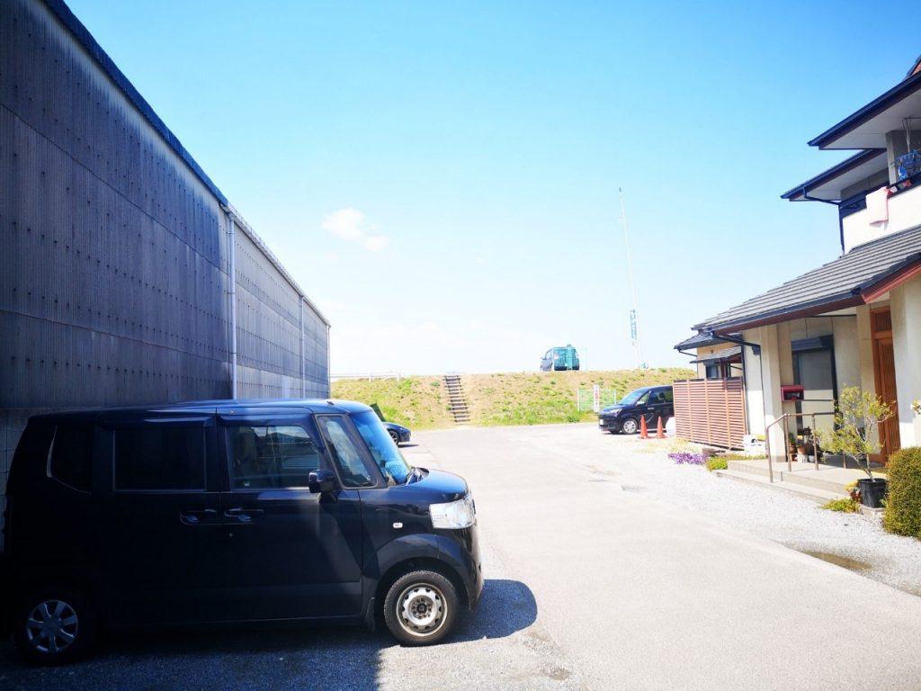 香川丸亀「なかむら」の駐車場